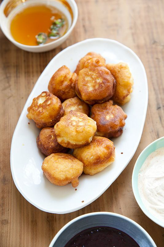 how to make corn beignets