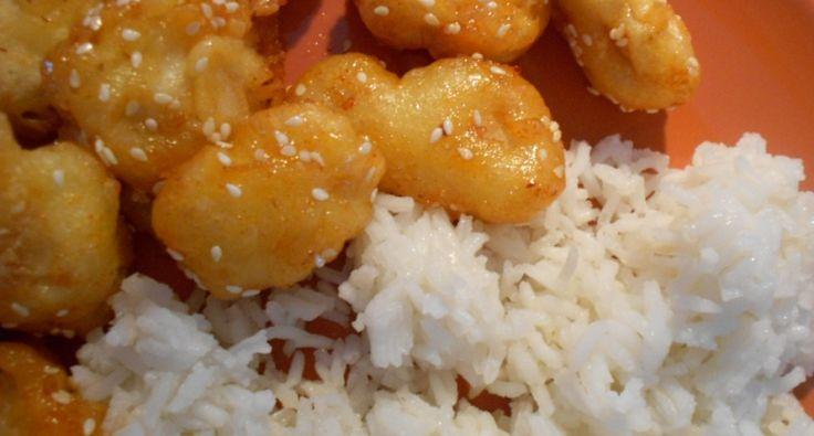 Szezámmagos csirke recept