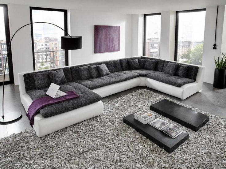 Wohnlandschaft u form  Best 25+ Sofa wohnlandschaft ideas on Pinterest | Paletten-Couch ...