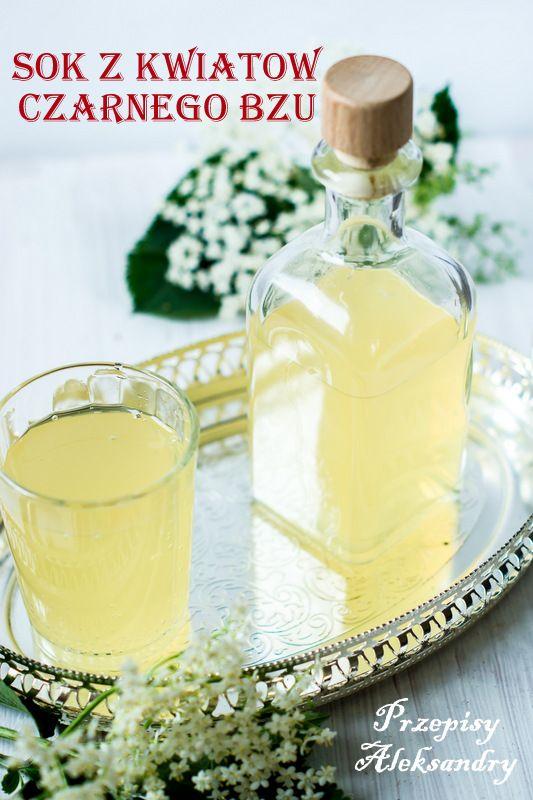 Przepisy Aleksandry: SOK Z KWIATÓW CZARNEGO BZU/ homemade elderflower cordial