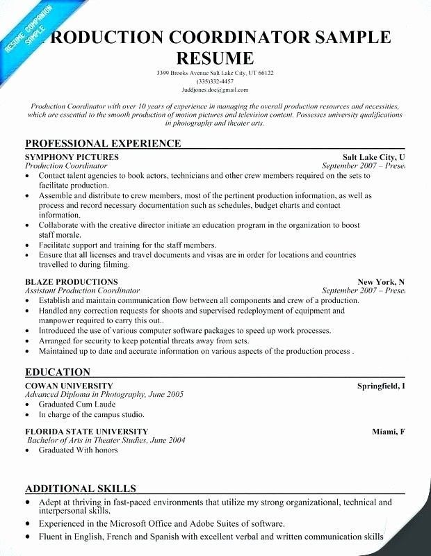 Event Producer Resume Example In 2021 Resume Examples Resume Assistant Jobs