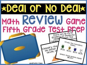 5th Grade Science Review Game on Math Staar Jeopardy 4th Grade