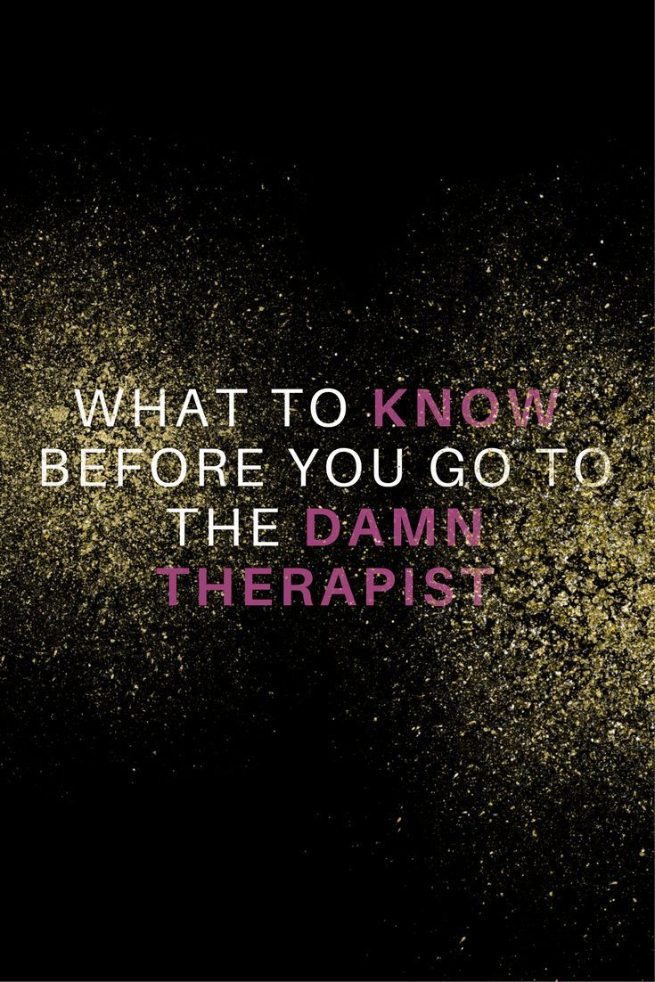 tips for going to therapy for the first time