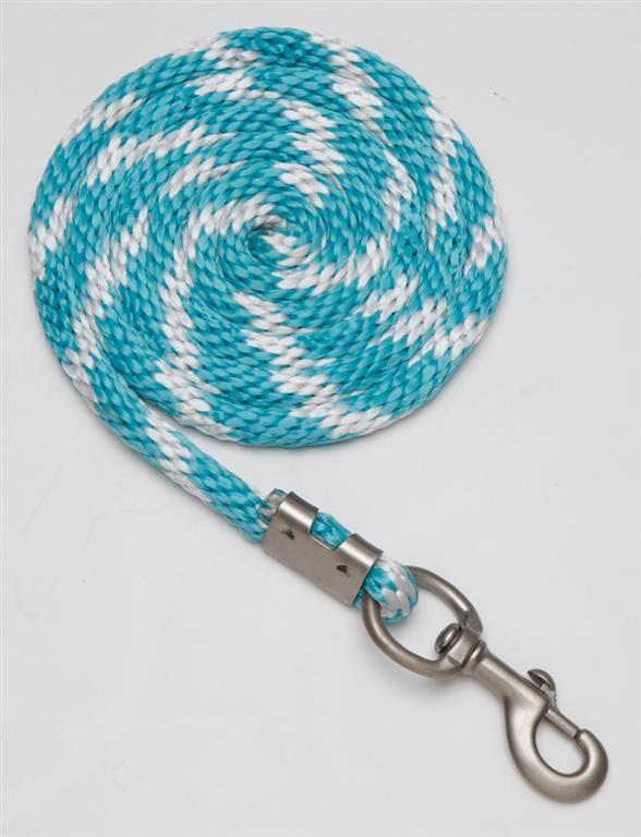 nylon lead ropes for horses   polo braided nylon lead rope 2 5mt 8 2 nylon lead with 19mm 3 4 matt ...