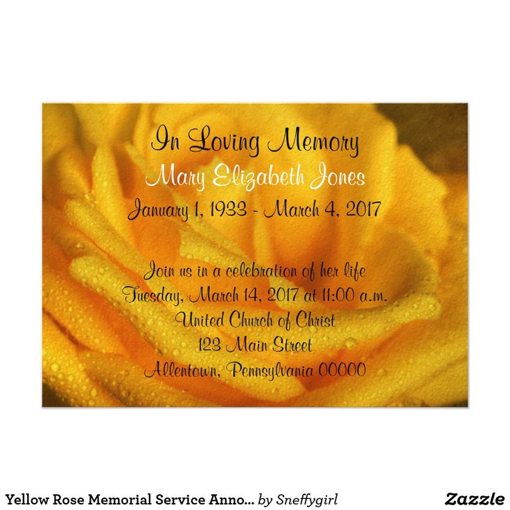 The 25+ best Funeral invitation ideas on Pinterest Funeral ideas - celebration of life templates