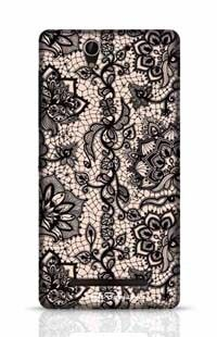 Flora Sony Xperia C3 New Phone Case