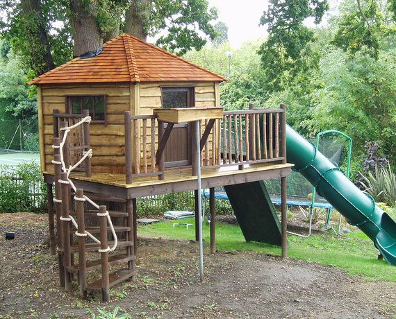 """Must See Treehouses for Kids 