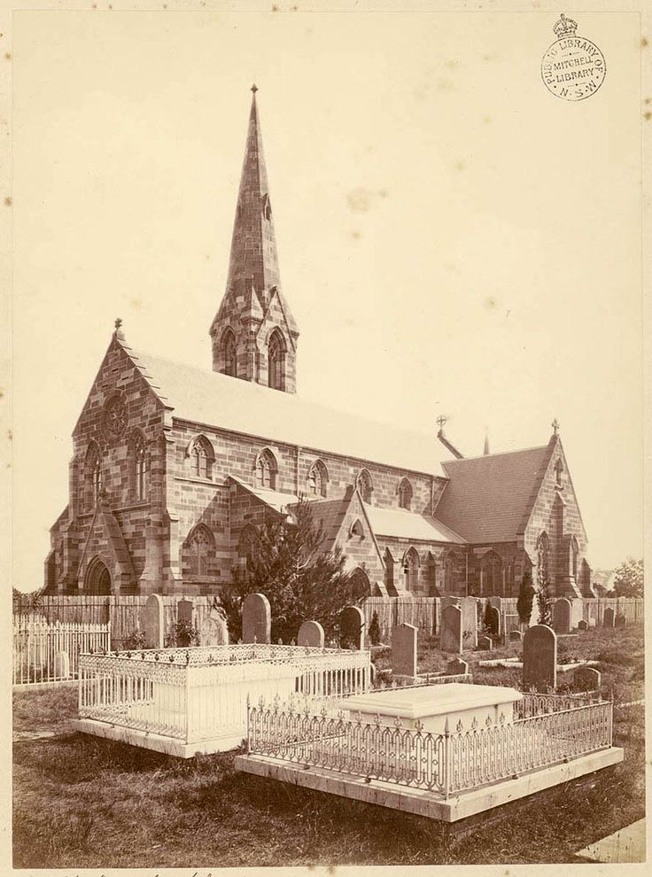 St Stephen's church, Newtown c1875 | The Dictionary of Sydney