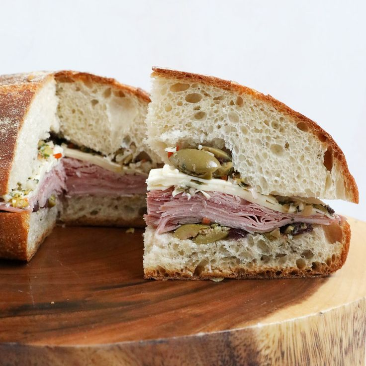 Muffuletta with Olive Relish