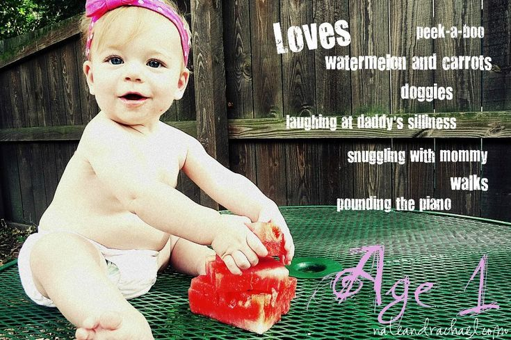 Add Text to Pictures to Create a Milestone Picture for Baby or Child