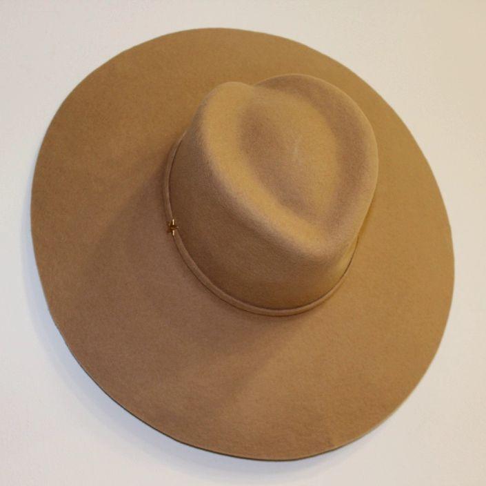 Nuevo 100/% Lana Marrón Deformable FEDORA Sombrero Montana al aire libre Casual Fieltro