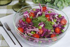 Salada de repolho roxo com coentro | Receitas e Temperos