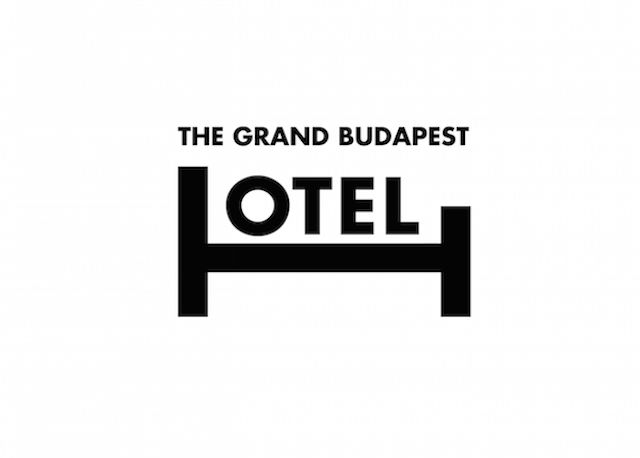 The Grand Budapest Hotel by Ji Lee | Smart Typography Reveals Plots of Oscars Movies http://pleaseenjoy.com/