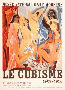 1953 : Le Cubisme, Pablo Picasso, Lithographic poster | Pablo Picasso : Life; Works, Lithographs, Periods