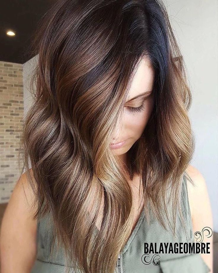 Stylish Ombre Balayage Hairstyles For Medium Length Hair Medium