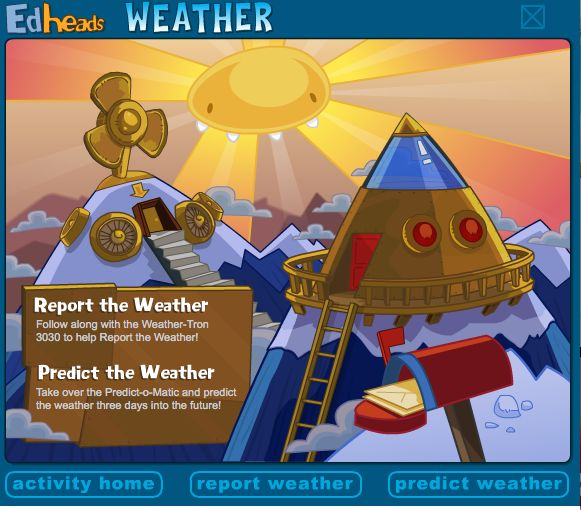 If you teach weather you'll love this blog post! Lots of links to the best weather sites on the Web!