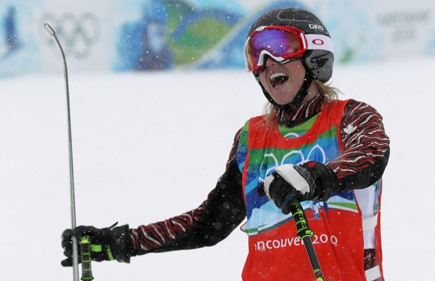 Ashleigh McIvor wins Gold at Cypress Mountain!