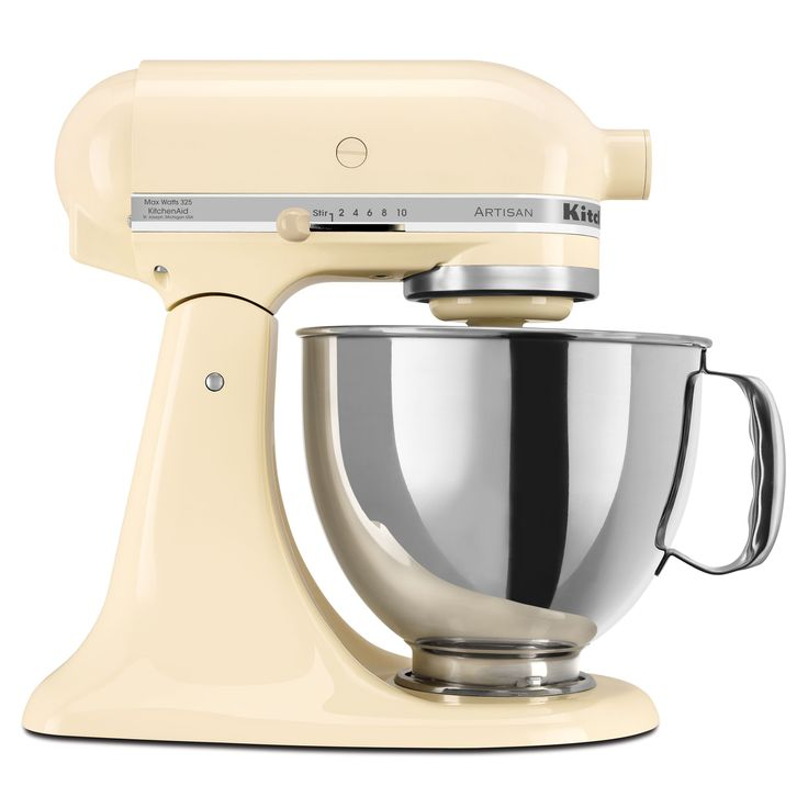 KitchenAid KSM150PSAC Almond Cream 5-quart Artisan Tilt-Head Stand Mixer  with $30 Rebate