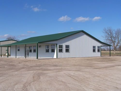 41 best metal building homes images on pinterest for Texas pole barns