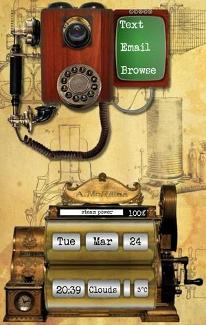SIMPLE STEAMPUNK Pretty much playing around here, makes a simpler … - Cameron…