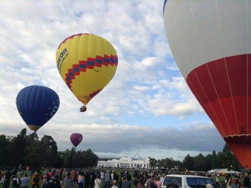 Baloon fest,canberra