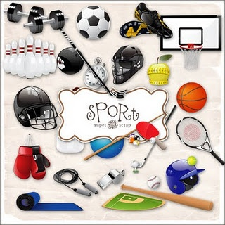 You can use any sport for this theme, I chose football because football season is when school starts.