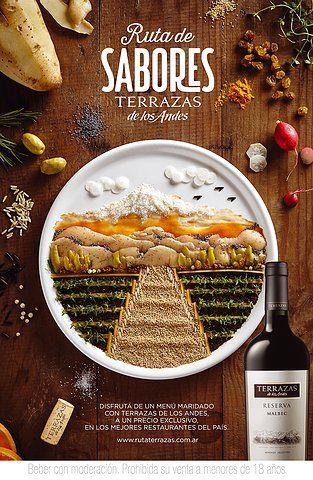 Terrazas Vinos Food Illustration
