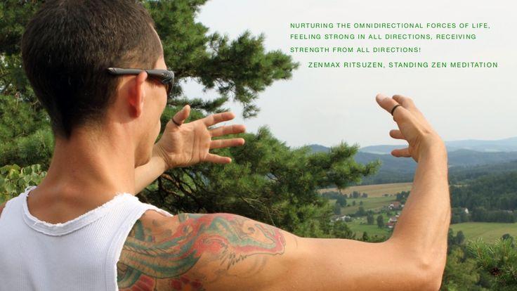 ZenmaX Ritsuzen, standing zen meditation. by Ron Nansink via slideshare