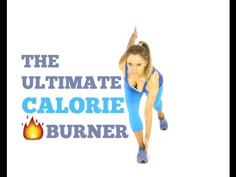 CALORIE BURNING WORKOUT -14 Minutes and Burn 100's of Calories - YouTube