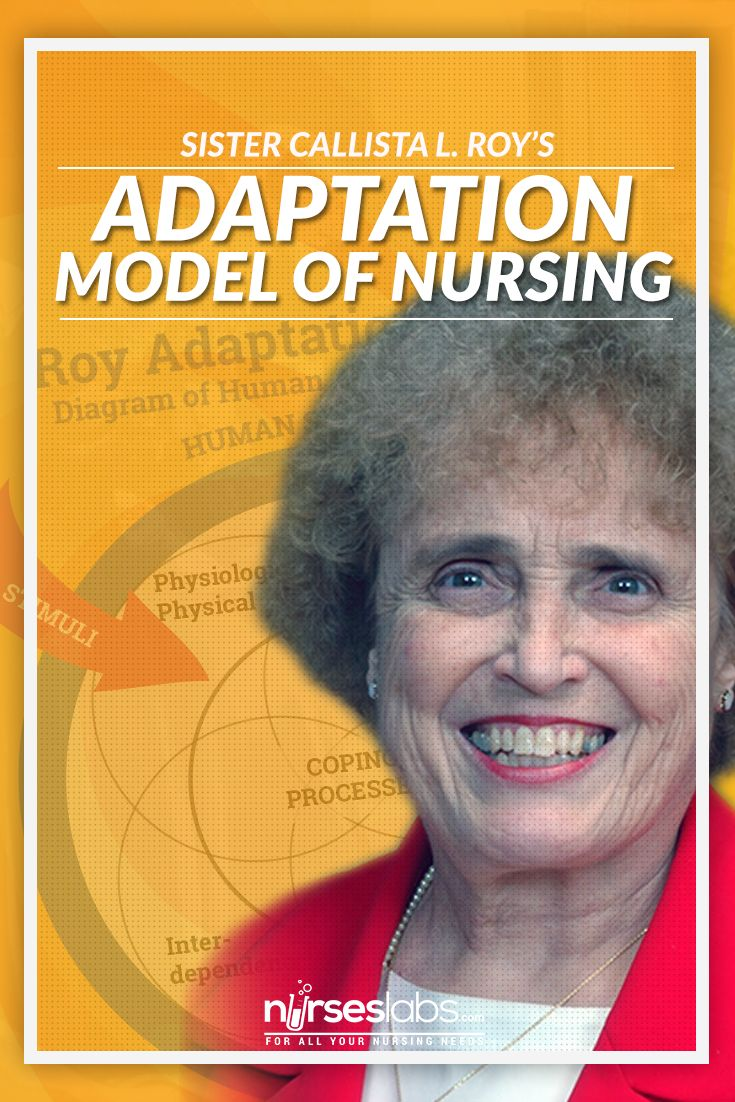 sister calista roy Sister callista roy four modes of adaptation critique physiological mode individual: the maintenance of physical health basic needs.
