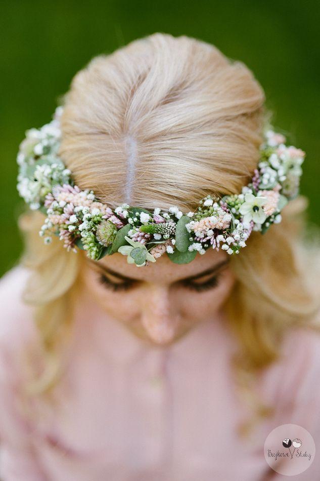 INNA Studio_  floral crowns / wianek ślubny / pastelowy / delikatny / regularny / fot. Bajkowe Śluby