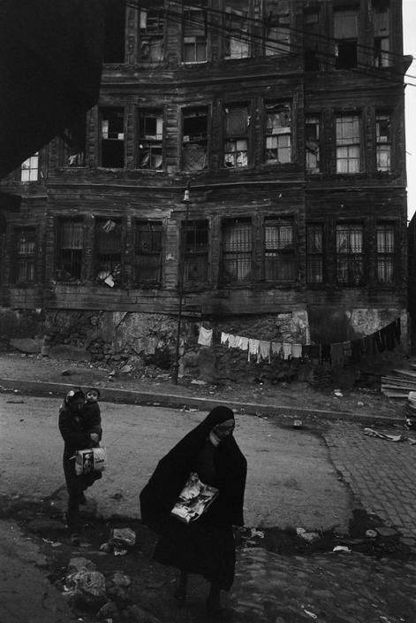 Magnum Photos-1972 View image only Ara Guler Old wooden houses in the Zeyrek district of Istanbul.