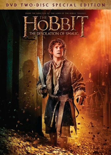 The Hobbit: The Desolation of Smaug [2 Discs] [Includes Digital Copy] [UltraViolet] [DVD] [2013]