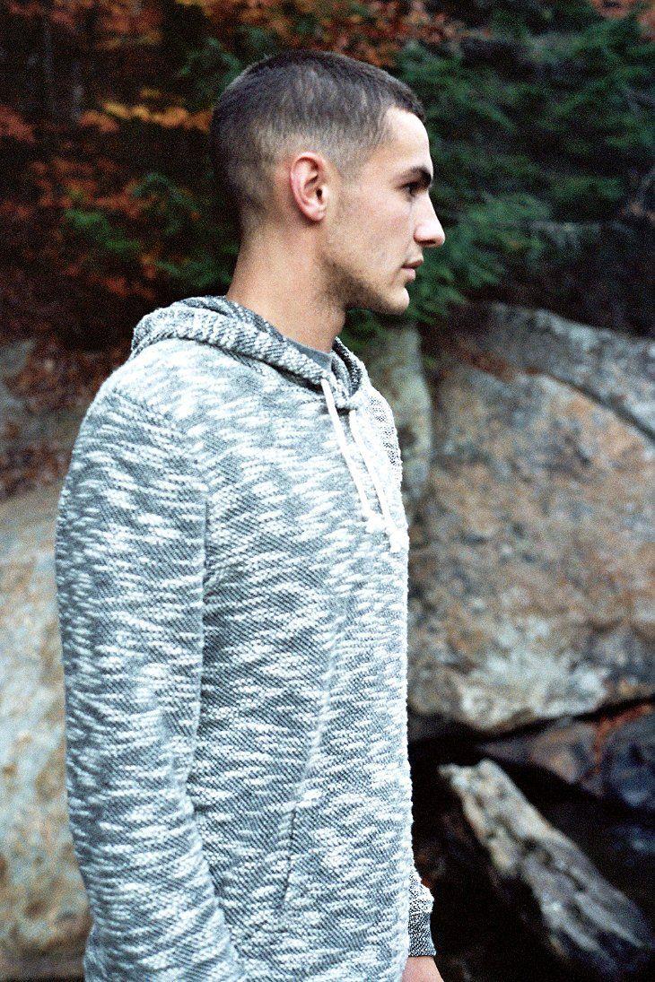 Koto Marled Pullover Hoodie Sweatshirt