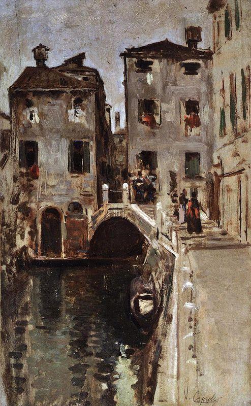 Vincenzo Caprile (1856-1939) - Venezia.