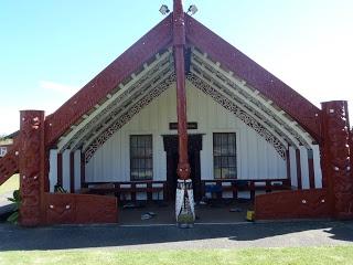 Putiki Marae, Wanganui, New Zealand. My nanas old house is very near by
