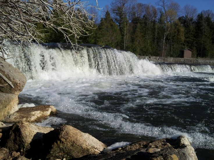 Sauble falls, ON. Way home from PT Grad Trip.