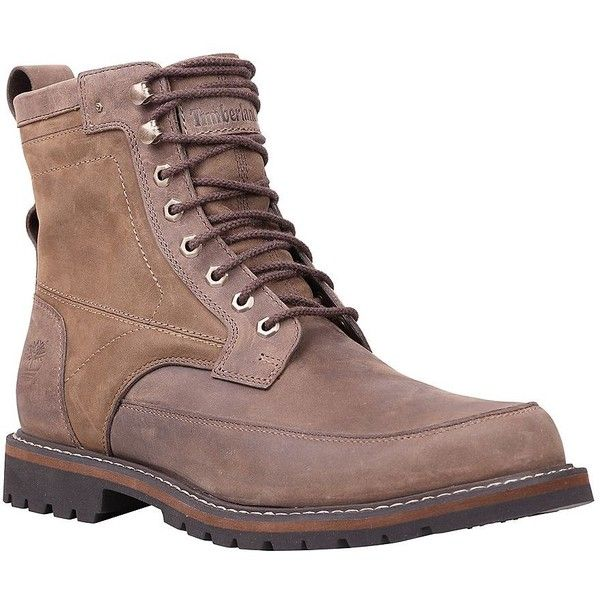 Timberland Chestnut Ridge Waterproof 6in Leather Chukka Boots ($70) ❤ liked on Polyvore featuring men's fashion, men's shoes, men's boots, dark brown, mens shoes chukka boots, mens waterproof leather boots, mens leather shoes, timberland mens boots and mens leather boots
