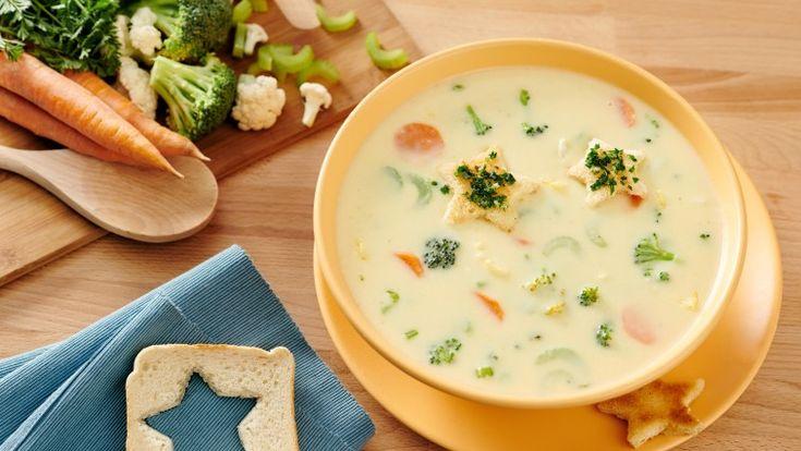 Polévka maminky Zuzany, co potěší duši