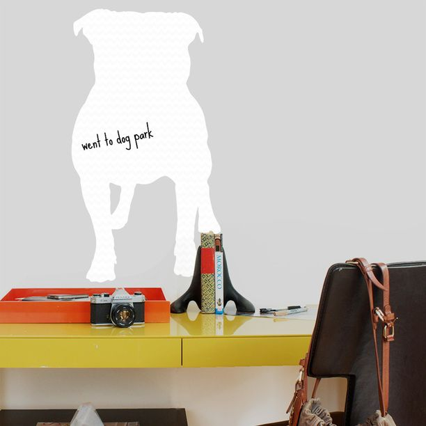 Pitbull Dry Erase Decal design inspiration on Fab. (With