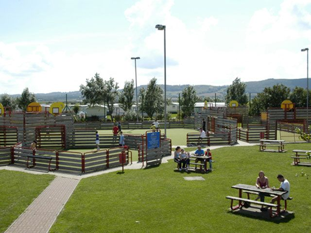 Ty Mawr Holiday Park, Abergele. If this was the last campsite on earth....