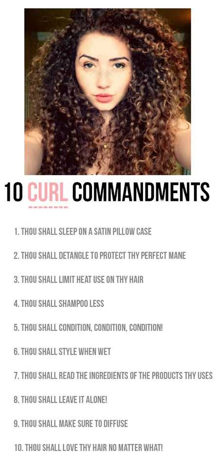 THE 10 CURL COMMANDMENTS!  There was a time when I was afraid of my curly-clients. These are seriously the best tips for cutting and caring for naturally curly hair!