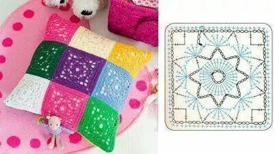 Unit crochet pattern home