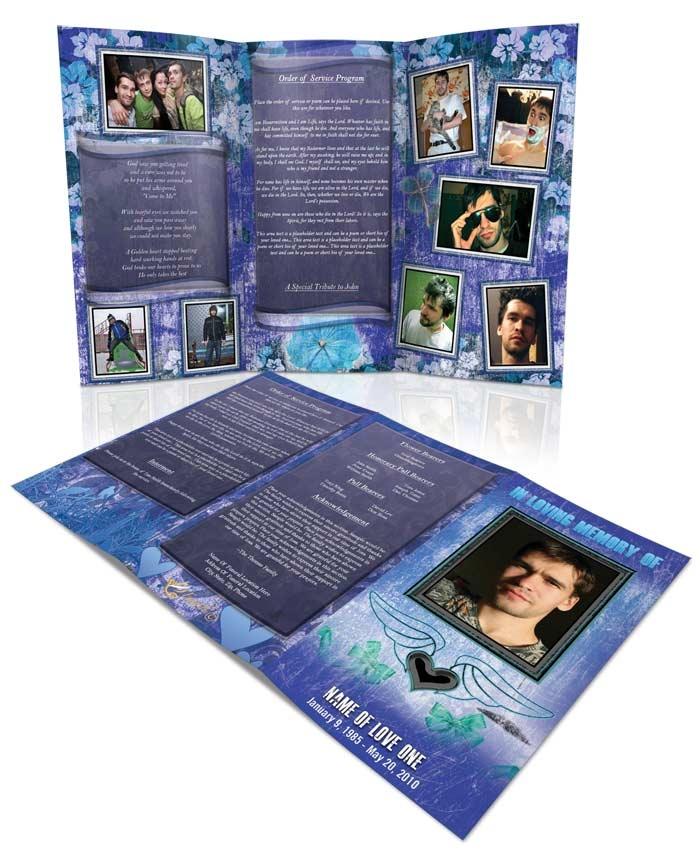 program brochure templates - 139 best funeral program templates thank you cards