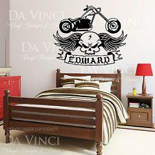 harley davidson wall decals ebay kids bedroom ideasharley