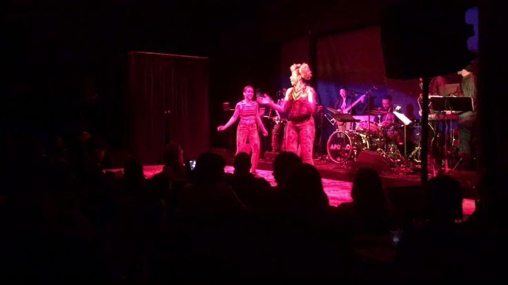 """Brinae Ali- Live at the Apollo Cafe """"Bonita Applebum"""" snippet"""