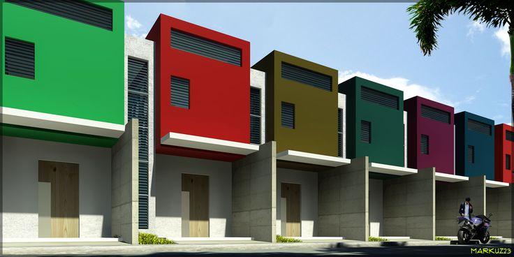 Best 25 Row House Design Ideas On Pinterest