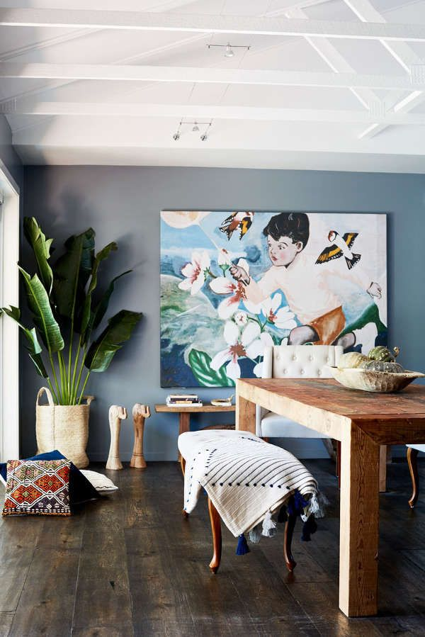 A 1980's bungalow gets a boho makeover in Bangalow - desire to inspire - desiretoinspire.net