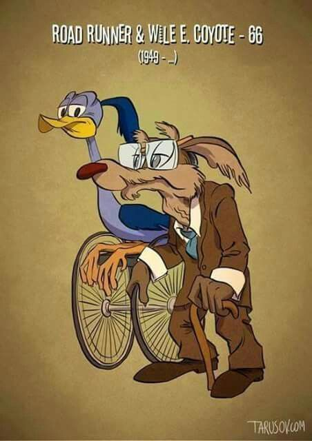 ROAD RUNNER and WILIE