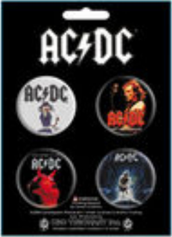AC//DC Guitar Picks Plectrum Pack Highway To Hell Official Licensed Band Merch